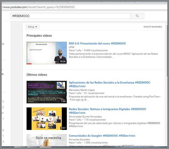 busqueda-rsemooc-en-youtube (rosapanos.com - Pildoras de TIC)