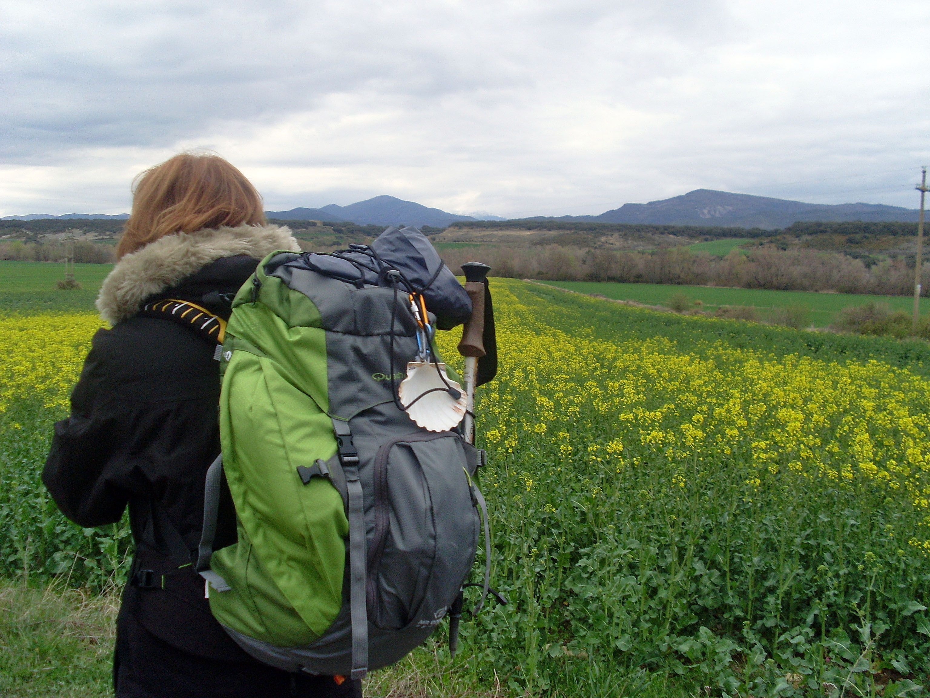 Sobre mi:rosapanos.com  - Rosa Paños Sanchis (camino de Santiago)