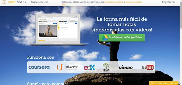 Videonot - inicio español rosapanos.com Píldoras de TIC