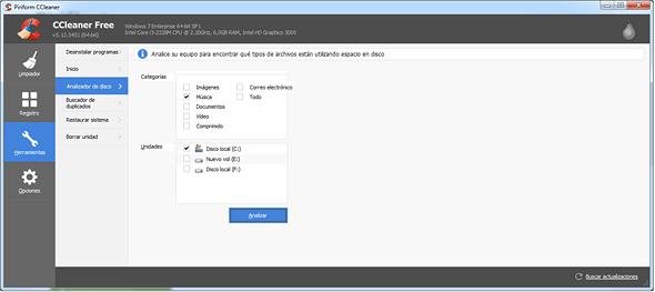 CCleaner-herramientas-analizador disco en rosapanos.com - Pildoras de TIC