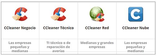 CCleaner- versiones negocio en rosapanos.com Pildoras de TIC