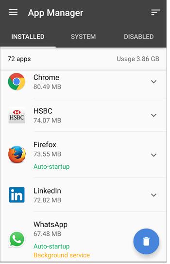 resultados administrador de CCleaner Android en rosapanos.com - Pildoras de TIC