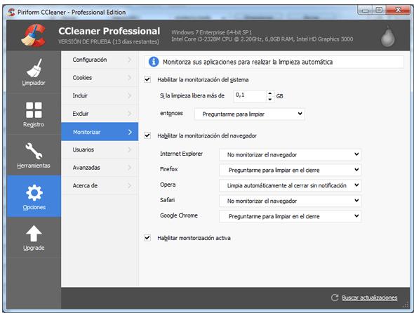 ccleaner professional -monitorización en rosapanos.com - Pildoras de TIC