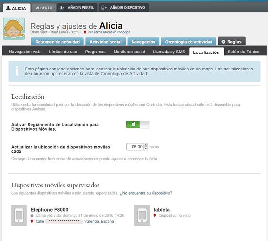 qustodio-reglas localización en rosapanos.com-Pildoras de TIC