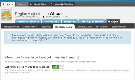 qustodio-reglas monitoreo social alicia en rosapanos.com-Pildoras de TIC