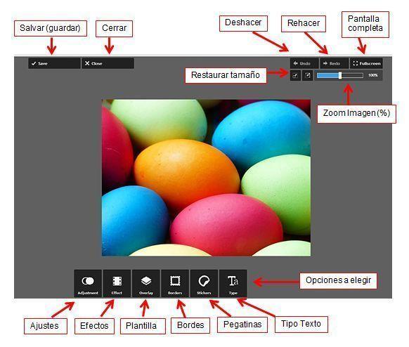 Pixlr Express- Grafico Interfaz en rospanos.com-Pildoras de TIC