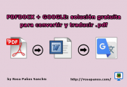 imagen PDFDOCX + GOOGLE (rosapanos.com - Pildoras de TIC) logo