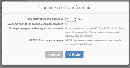 confirmación envio con failmail by rosapanos.com - Pildoras de TIC