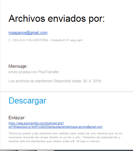 correo descarga plustransfer ejemplo by rosapanos.com - Pildoras de TIC