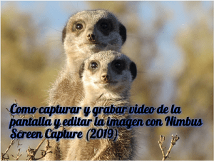 miniatura post Nimbus Screen Capture by rosapanos.com - Pildoras de TIC