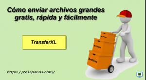miniatura  TRANSFER XL -by rosapanos.com - Pildoras de TIC (300)