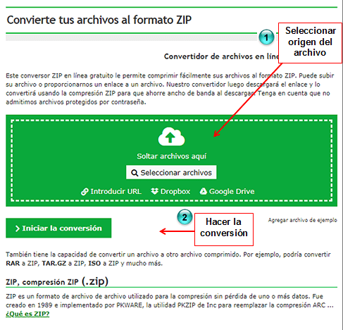interfaz conversion de archivos (online-convert) en rosapanos.com-Pildoras de TIC