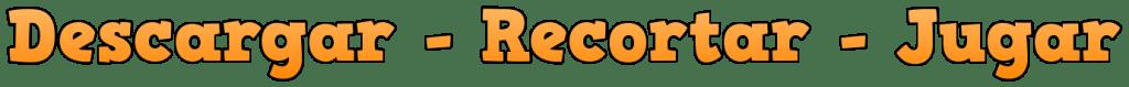 DESCARGAR - RECORTAR - JUGAR (90) by Rosa Paños Sanchis