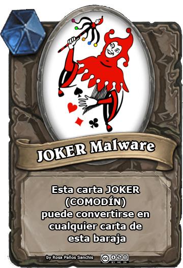 JOKER  MALWARE by Rosa Paños Sanchis (Pildoras de TIC)